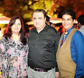 Jyoti Behl, Vivek Behl with Arvind Munjaal