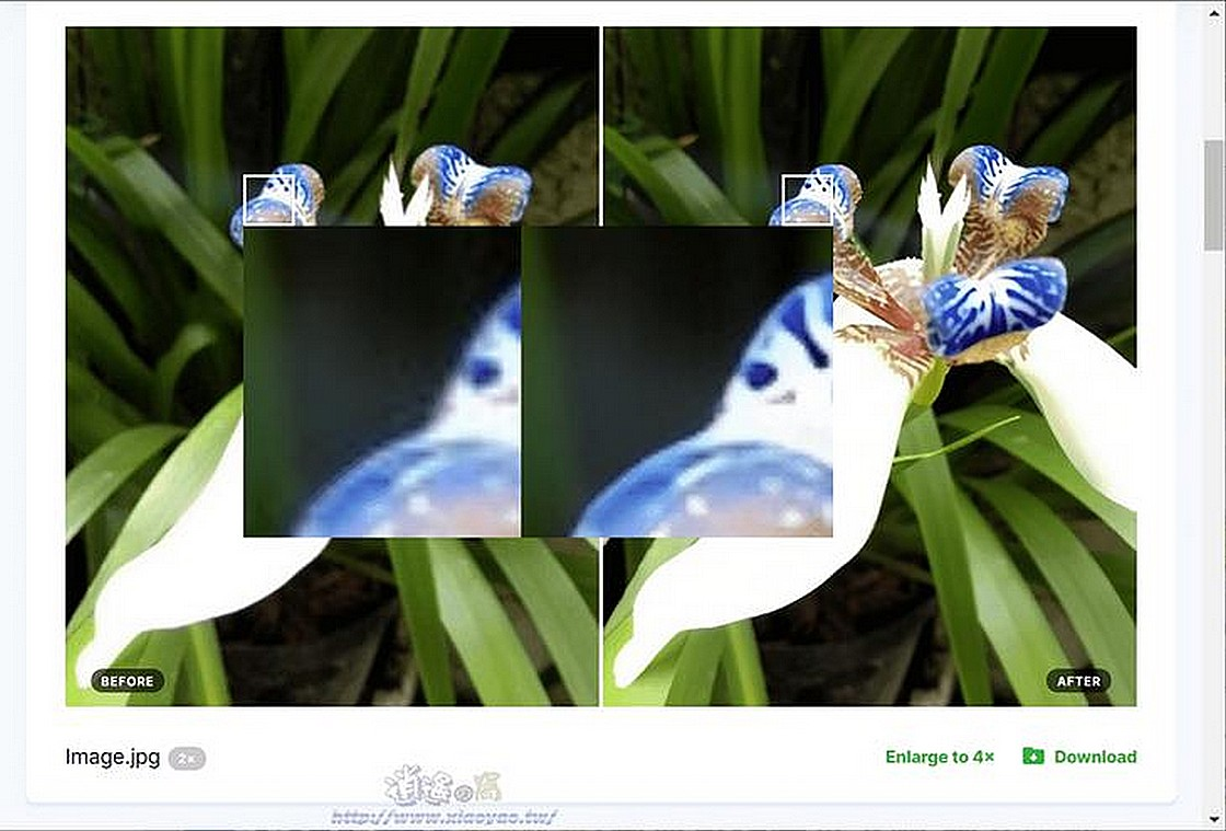 Smart upscaler 免費圖片放大工具