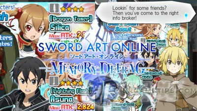 Sword Art Online: Memory Defrag - FAQs, Tips and Re-Roll Guide