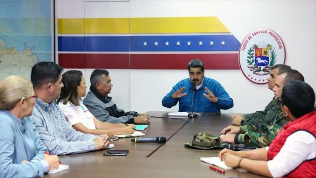 Maduro: Apagones son por los virus de EEUU en la red eléctrica