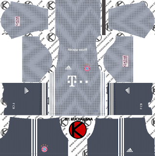 FC Bayern Munich 2018/19 Kit - Dream League Soccer Kits