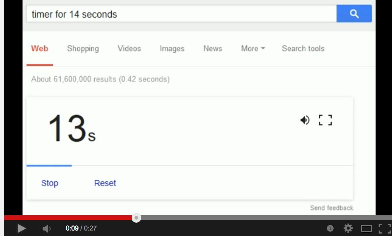 Google Now Releases a Free Countdown Timer | Educational Technology