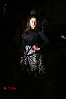 Actress Sonia Agarwal Stills in Black Top at Yevanavan Tamil Movie Audio Launch Event  0024.jpg