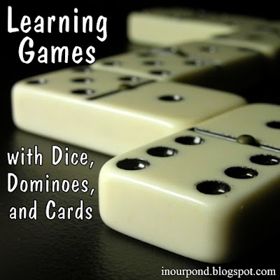 Learning Ideas with Dominoes, Dice, and Playing Cards from In Our Pond