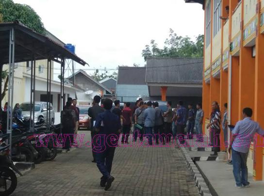 Rapat AKD DPRD Lampura Diwarnai Kericuhan