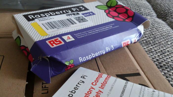 raspberry pi 3 danificado