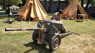 D-Day Reenactment at Conneaut Ohio, Polish