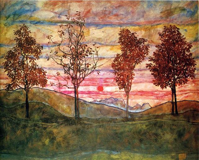Resultado de imagem para pinturas de árvore pintores famosos