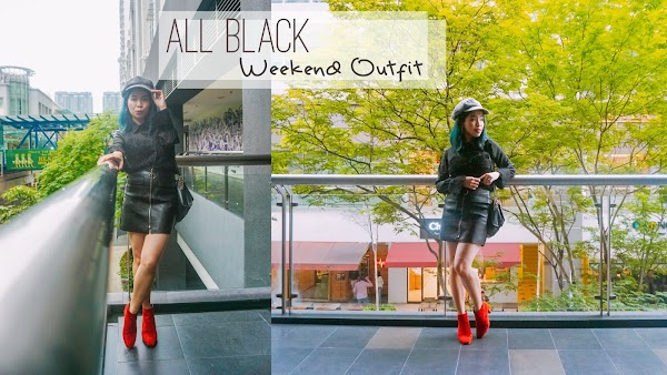 All Black Weekend Outfit #78