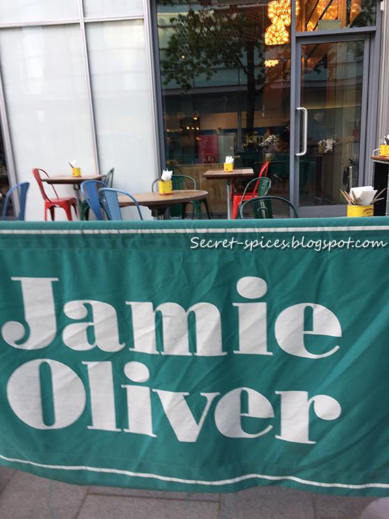 Dining at Jaime Oliver's Italian Restaurant in Liverpool