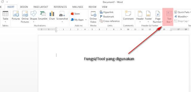 Cara Mudah Untuk Membuat Tulisan Miring Secara Horizontal di Microsoft Office Word dengan menggunakan fungsi Text Direction