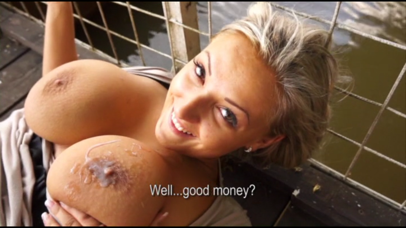 Public pickups hot czech babe is paid cash for public bj - 3 4