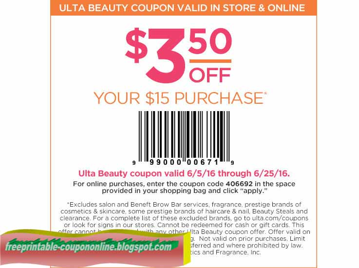 Coupon code ulta
