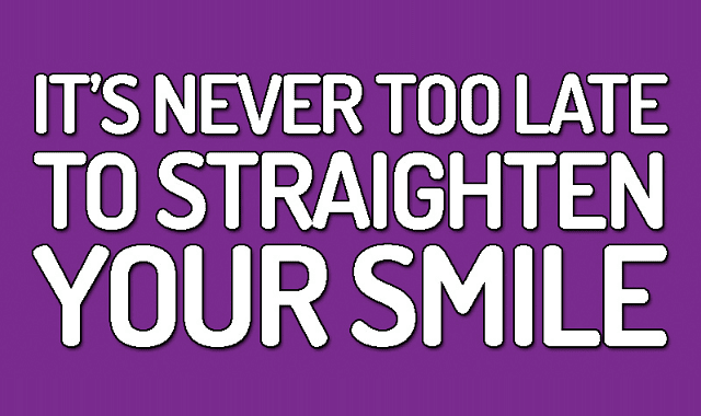 Brace Yourself: It's Never Too Late To Straighten Your Smile