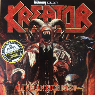 Kreator - Live Antichrist (2017) - Album Download, Itunes Cover, Official Cover, Album CD Cover Art, Tracklist