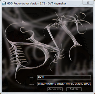pacth serial number hdd regenerator 1.71