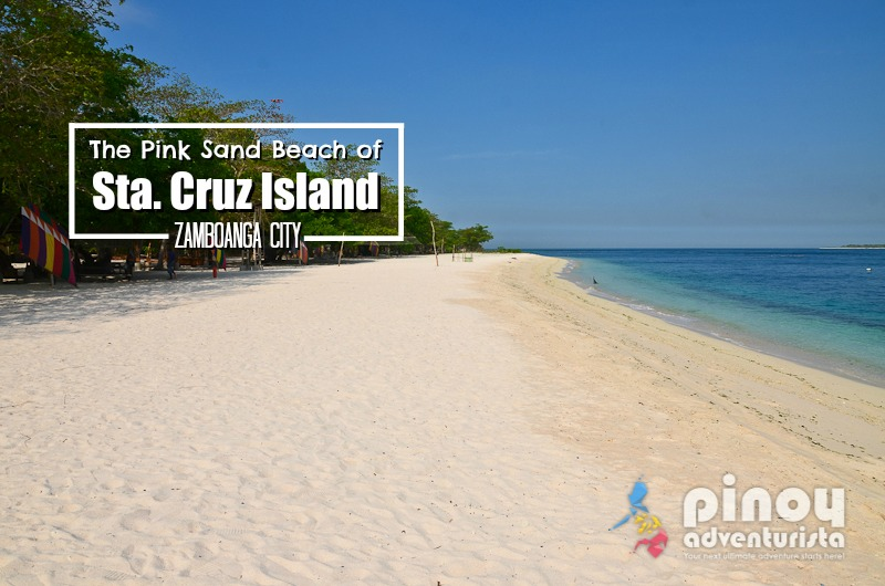 The Pink Sand Beach Of Sta Cruz Island Zamboanga City