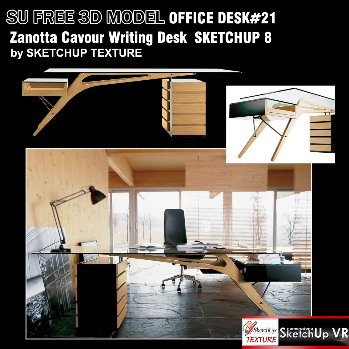 SKETCHUP TEXTURE: SKETCHUP MODELS OFFICE FURNITURE