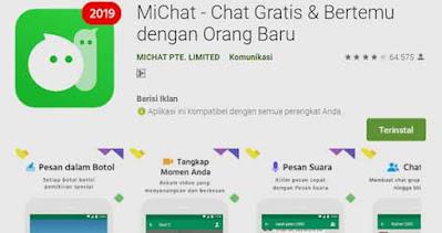 aplikasi chat gratis dan untuk mencari teman, pacar, selingkuhan, tante dan brondong