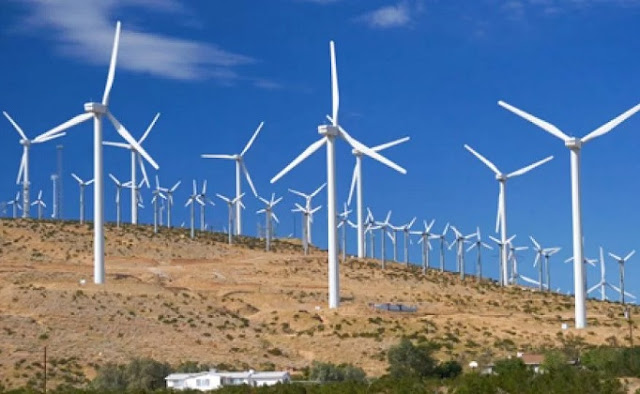 Wind power turbines to be built in Albania