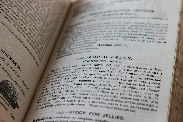 Aspic jelly recipe