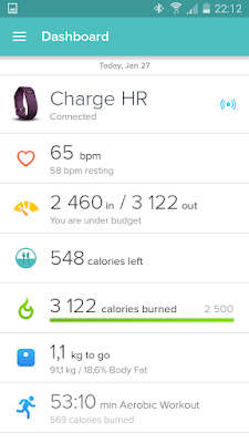 Fitbit Charge HR stuck in firmware update mode -- with possible