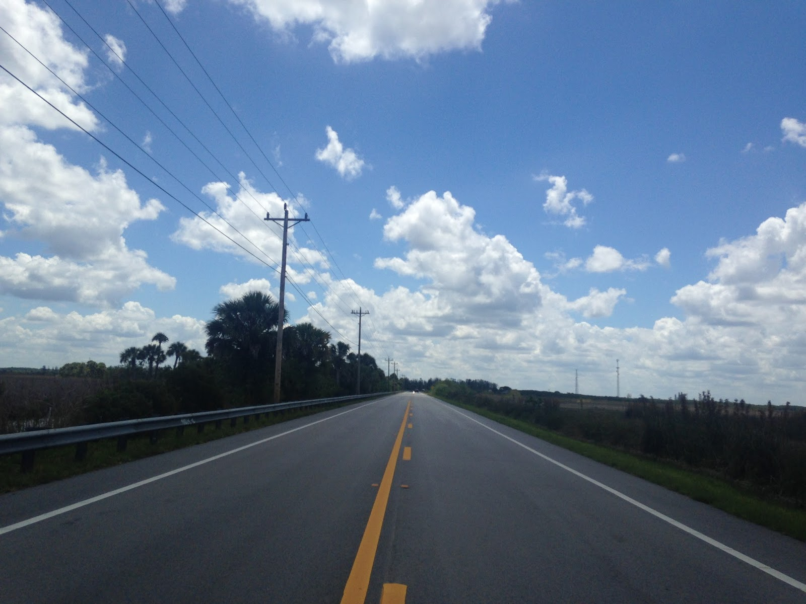much of the tamiami trail east to miami was dredged out of the ground next to the highway which led to the drainage issues in the everglades