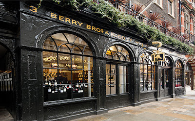 Berry Bros. & Rudd, wine shop, Regency