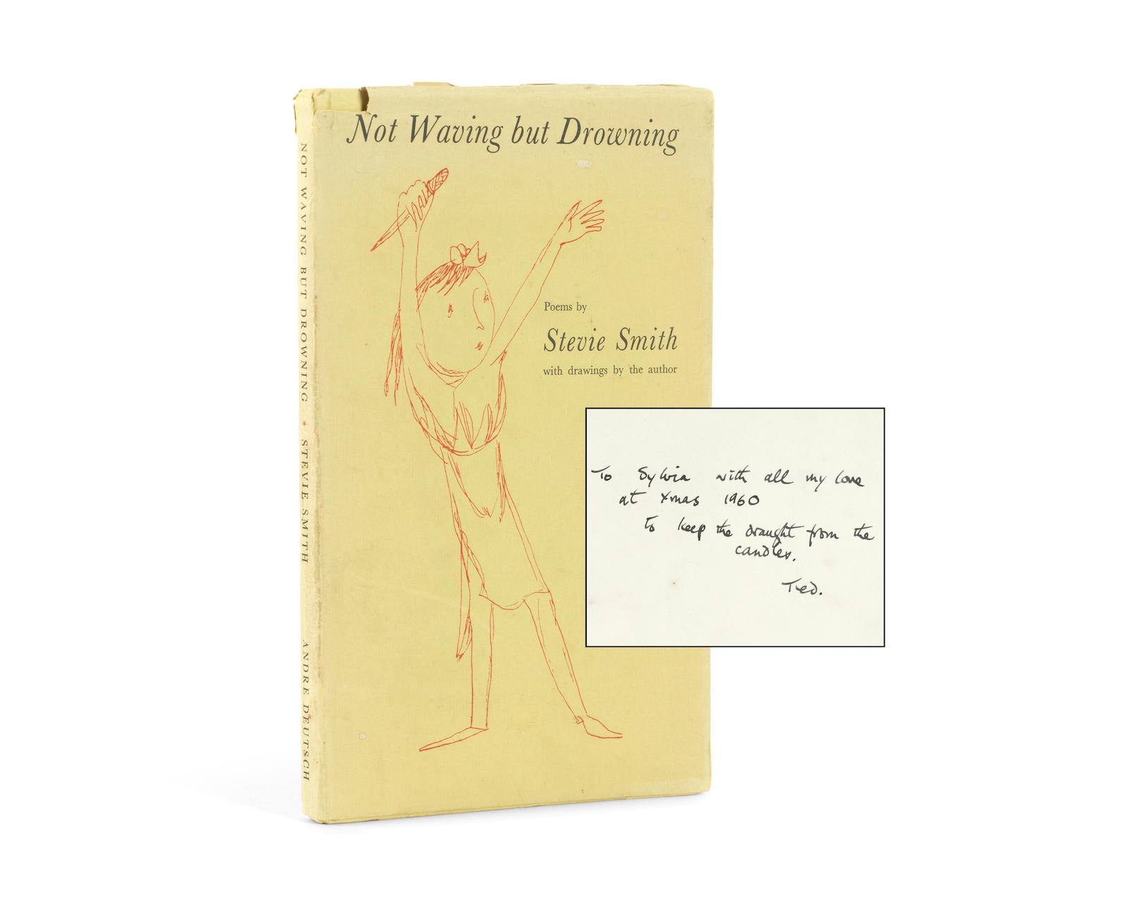 stevie smith s not waving but drowning metaphor In stevie smith's not waving but drowning, the poet tells the story of a  beyond  the surface there is another level of meaning in the poem.