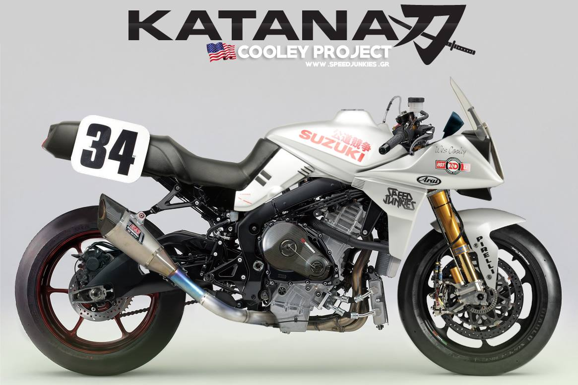 racing caf racing concepts suzuki katana cooley project by speed junkies. Black Bedroom Furniture Sets. Home Design Ideas