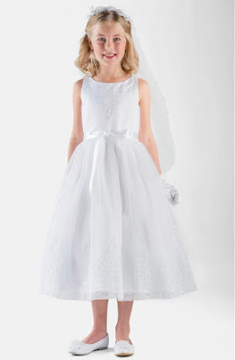 Vestidos de comunion cortos para fiesta de noche