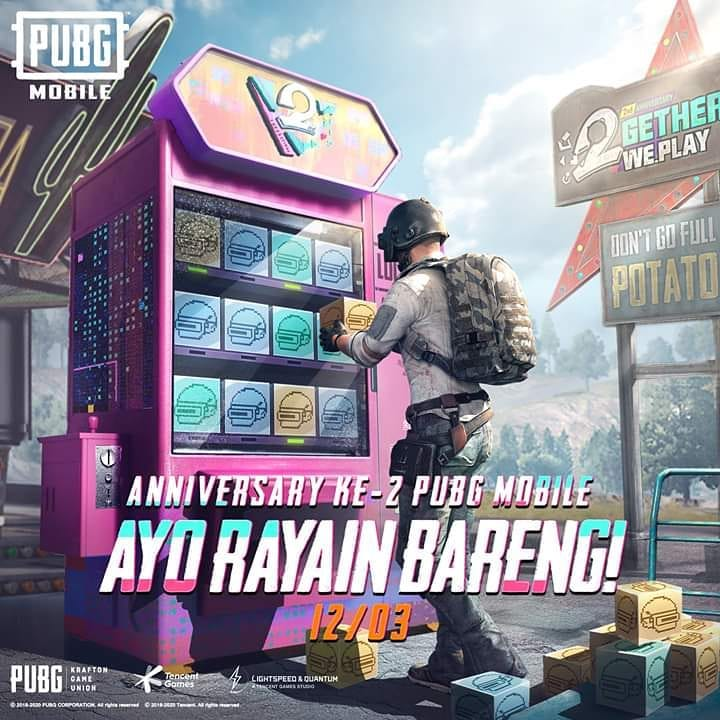 2nd Anniversary of PUBG Mobile  #2getherWePlay