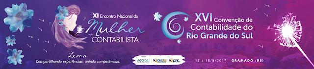 Programação XVI Convenção de Contabilidade do Rio Grande do Sul