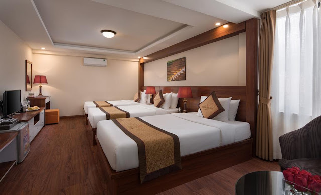 Sapa-golden-villa-hotel-triple room