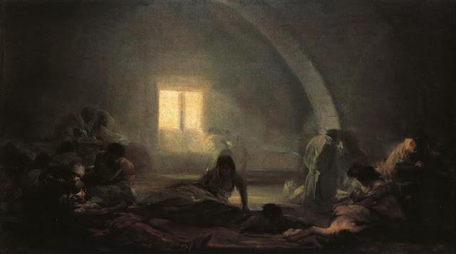 Plaga Hospital – Francisco de Goya