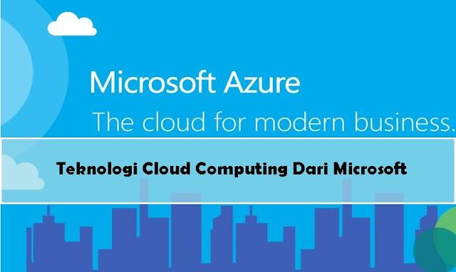 Teknologi Cloud Computing Microsoft Azure