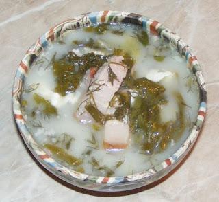 supa de salata ardeleneasca, supe, supa de salata verde cu lapte si afumatura, retete de mancare, retete culinare,