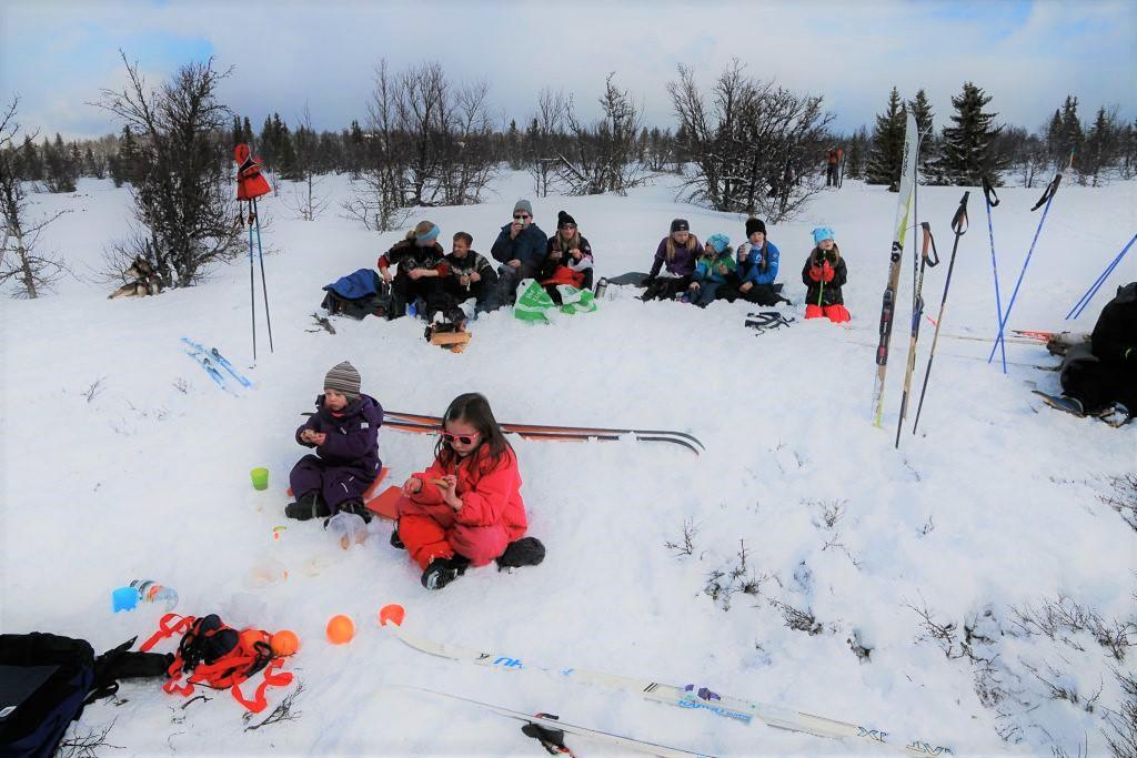 Ski hytte orgie