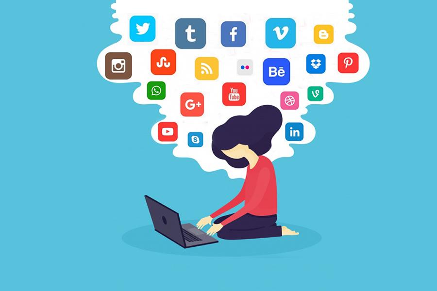 social media marketers habits