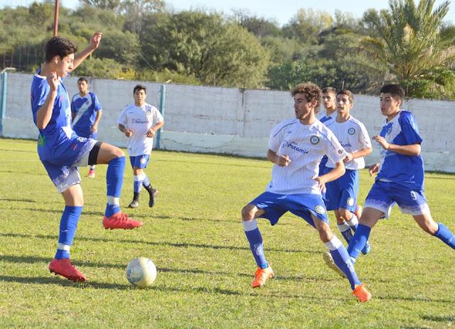 Una tarde azul en el fútbol de Punilla