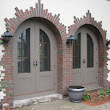 Custom made arched screen doors
