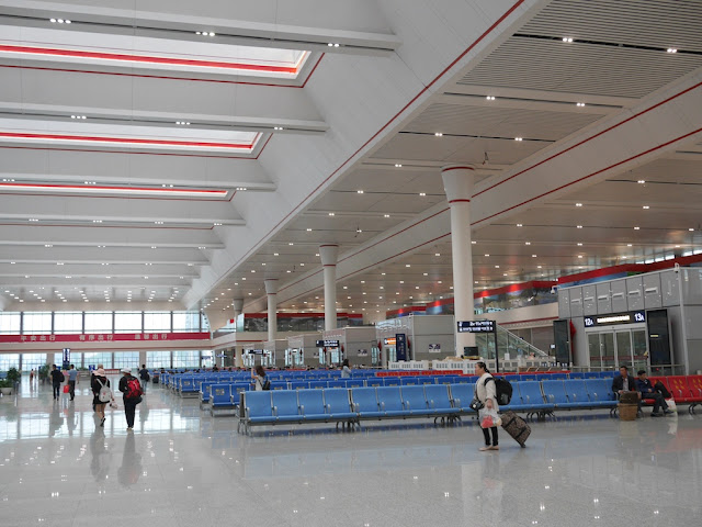 Guiyang North Railway Station departure hall