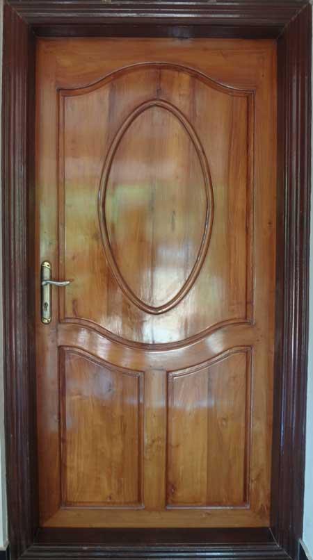 Kerala Model Wooden Single Door Designs Best Collection