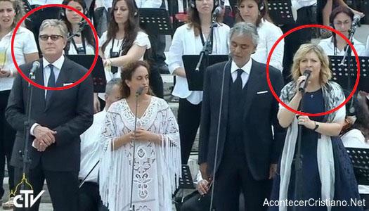 Don Moen y Darlene Zschech cantan en el Vaticano