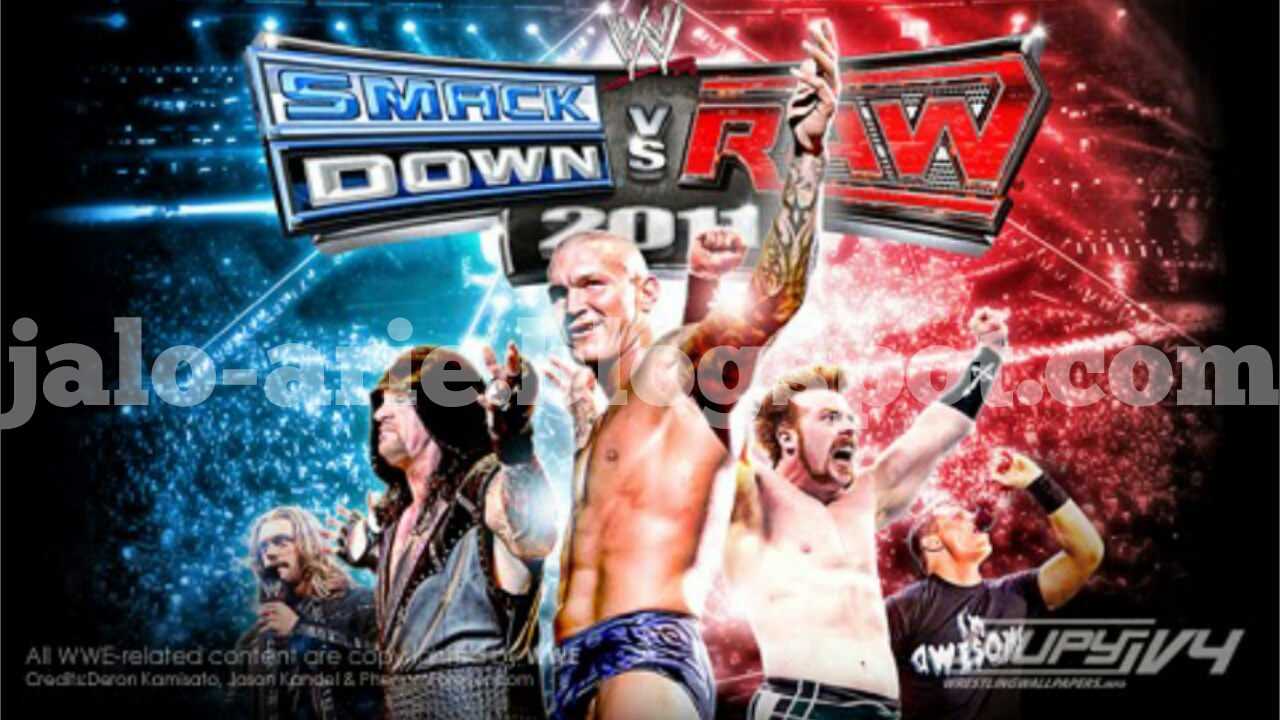 Game WWE Smackdown! vs Raw 2011 PPSSPP/ISO Download - Jalo