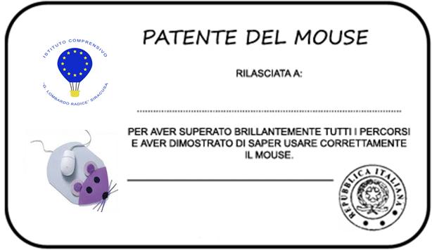 patente mouse da
