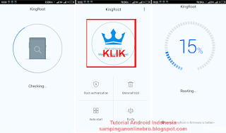 proses root 2