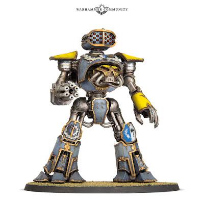 matriz armas adcionales Titan Reaver