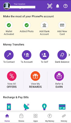 Phonepe account