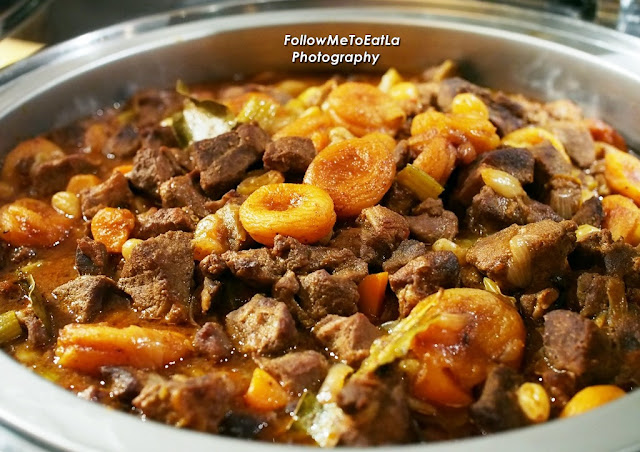 Moroccan Lamb Stew With Raisin & Apricot